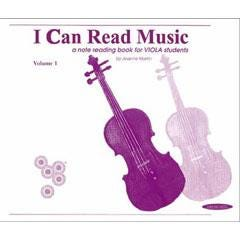 Image for I Can Read Music Volume 1 Viola from SamAsh