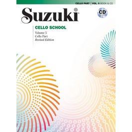 Alfred Suzuki Cello School Cello Part & CD, Volume 5 (Revised)