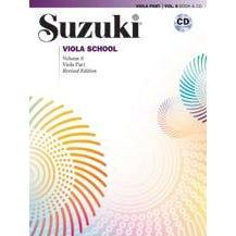 Image for Suzuki Viola School Viola Part & CD, Volume 6 (Revised)Book & CD from SamAsh