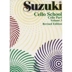 Image for Suzuki Cello School Volume 3 from SamAsh