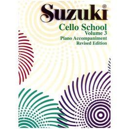 Image for Suzuki Cello School Volume 3 Piano Accompaniment from SamAsh