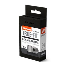 Westone True-Fit Foam Eartips, 12.6mm, 5 Pair Pack