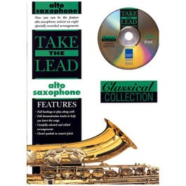 Image for Take The Lead Classical Collection Alto Sax (Book & CD) from SamAsh