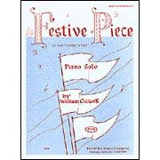 Image for Festive Piece (Piano)-William Gillock-Early Intermediate from SamAsh