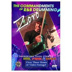 Image for Zoro - The Commandments of R & B Drumming DVD from SamAsh