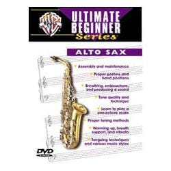 Image for Ultimate Beginner Series: Alto Sax DVD from SamAsh