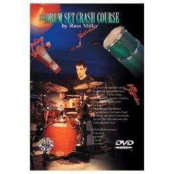 Image for Russ Miller Drum Set Crash Course DVD from SamAsh