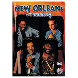 Image for New Orleans Drumming DVD from SamAsh