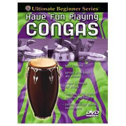Image for Ultimate Beginner Series: Have Fun Playing Congas DVD from SamAsh