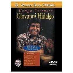 Image for Giovanni Hidalgo Conga Virtuoso DVD from SamAsh