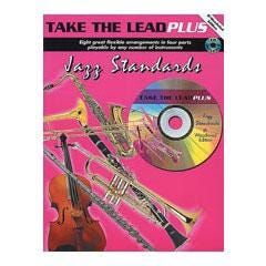 Image for Take The Lead Plus Jazz Standards Bb Woodwind Edition (Book and CD) from SamAsh