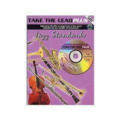 Image for Take The Lead Plus Jazz Standards Eb Brass Edition (Book and CD) from SamAsh