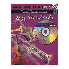 Image for Take The Lead Plus Jazz Standards Bass Edition (Book and CD) from SamAsh