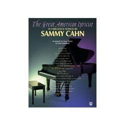 Image for The Great American Lyricist: 19 Fabulous Songs by Sammy Cahn (Easy Piano) from SamAsh