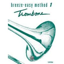 Alfred Breeze-Easy Method For Trombone or Baritone Book 1