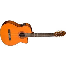 Washburn C5CE-A Classical Series Cutaway Nylon-String Classical Acoustic-Electric Guitar