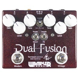 Image for Tom Quayle Signature Dual Fusion Overdrive Pedal from SamAsh