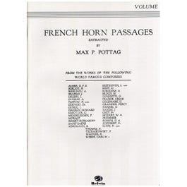 Image for French Horn Passages Volume 1 from SamAsh