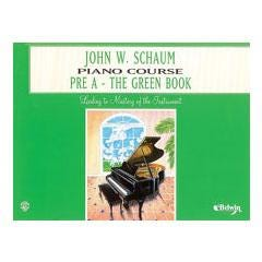 Image for Schaum Pre A Piano (Green) from SamAsh