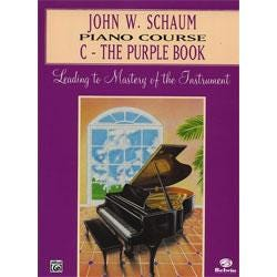 Image for Schaum Piano Course C The Purple Book (Revised) from SamAsh