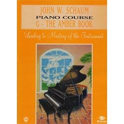 Image for Schaum Piano Course G The Amber Book (Revised) from SamAsh
