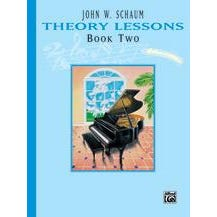 Alfred Schaum Theory Lessons Book 2