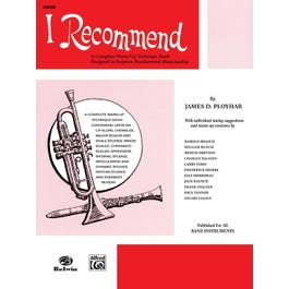 Alfred I Recommend - For Oboe