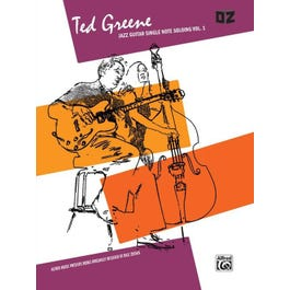 Alfred Ted Greene: Jazz Guitar Single Note Soloing, Volume 1