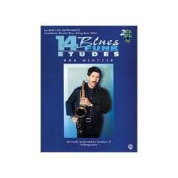 Image for 14 Blues & Funk Etudes Bass Clef Instrument Book & 2 CDs from SamAsh