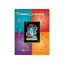 Image for Music Expressions Supplementary Kindergarten to Grade 2: Music for Holidays and from SamAsh