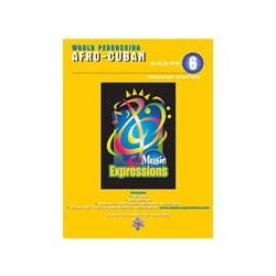 Image for Music Expressions Grade 6 Afro Cuban Percussion Teacher Edition (Book and CD) from SamAsh