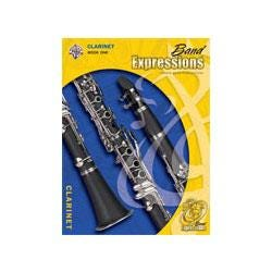 Image for Band Expressions Book One Student Edition for Clarinet (Book and CD) from SamAsh