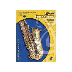 Image for Band Expressions Book One Student Edition for Alto Saxophone (Book and CD) from SamAsh