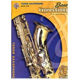 Image for Band Expressions Book One Student Edition for Tenor Saxophone (Book and CD) from SamAsh