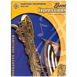 Image for Band Expressions Book One Student Edition for Baritone Saxophone (Book and CD) from SamAsh