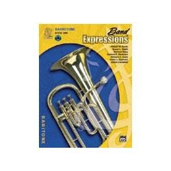 Image for Band Expressions Book One Student Edition for Baritone Bass Clef (Book and CD) from SamAsh