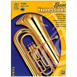 Image for Band Expressions Book One Student Edition for Tuba (Book and CD) from SamAsh