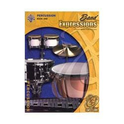 Image for Band Expressions Book One Student Edition for Percussion (Book and CD) from SamAsh