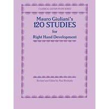 Alfred Mauro Giuliani 120 Studies for Right Hand Development (Classical Guitar Study)