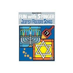 Image for Fun with 5 Finger Jewish Holiday Songs from SamAsh