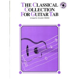 Image for Classical Collection For Guitar Book & CD (TAB) from SamAsh
