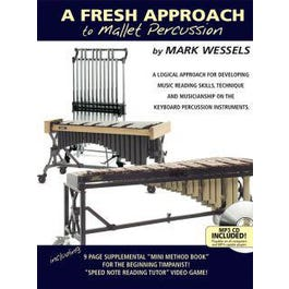 Image for A Fresh Approach to Mallet Percussion-BK+AUDIO from SamAsh