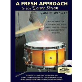 Image for A Fresh Approach to the Snare Drum--BK + AUDIO from SamAsh