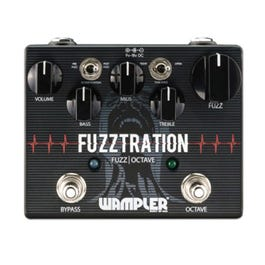 Image for Fuzztration Octave/Fuzz Guitar Effects Pedal from SamAsh