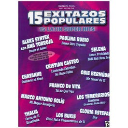 Image for 15 Exitazos Populares (15 Latin Superhits) from SamAsh