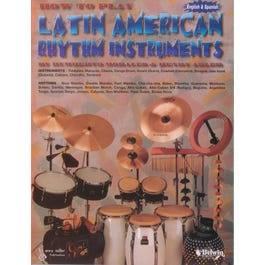 Image for How to Play Latin American Rhythm Instruments-English / Spanish Book/Drum Book from SamAsh