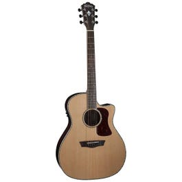 Image for HG26SCE Heritage Grand Auditorium Acoustic Electric Guitar from SamAsh