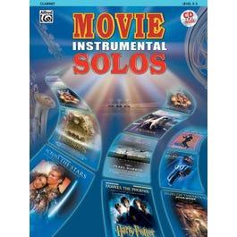 Alfred Movie Instrumental Solos Clarinet Book & CD