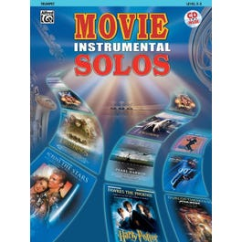 Alfred Movie Instrumental Solos Trumpet Book & CD
