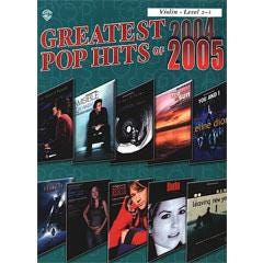 Image for Greatest Pop Hits 2004 to 2005 (Violin) from SamAsh
